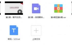 倪:《微信撩妹前20句》百度网盘下载
