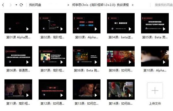 柯李思Chris团队 搭讪大师TV课程合集